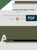 OpinionWay Tunisia-Transition démocratique en Tunisie