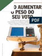 Como Aumentar o Peso Do Seu Voto