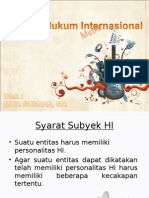 Subyek Hukum Internasional (2)