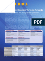 Control Readers Choice 2010