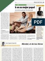 """Diario de Teruel 10/08/2010 """"El Show de Pepin en Torre de Arcas"""""""