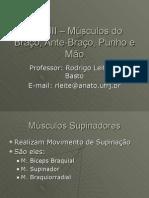 Aula III – Músculos Do Braço, Ante-Braço