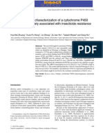 Identification and Characterization Using Cytochrome p450