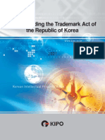 Understanding the Trademark Act of the Republic of Korea