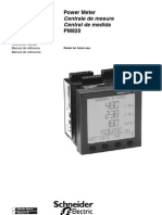 Schneider PM820 Reference Manual