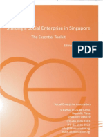 Starting a Social Enterprise in Singapore- The Essential Toolkit (March 2011)