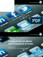 Social CRM Forum 2011 08 - Mathias Müller - Social Media Marketing ohne Facebook und Twitter