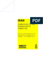 Amnesty Iran UN UPR Submission