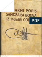 Ahmed S. Aličić - Sumarni popis sandžaka Bosna (1468-69)