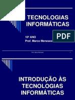 TECNOLOGIAS INFORMÁTICAS