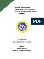 Contoh Proposal Magang Mahasiswa