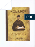 Antun Knežević - Kratka historija kralja bosanskih