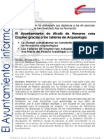 PATRIMONIO HISTÓRICO Diplomas Talleres de Empleo