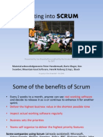 Getting Into SCRUM