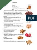 8 jenis makanan pintar