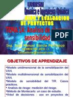 IP Métodos para comparar alternativas de sensibilidad y riesgo en proyectos