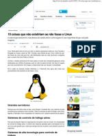 10 coisas que não existiriam se não fosse o Linux