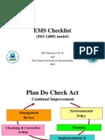 Iso Checklist Presentation