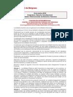 6. Trat. Int. DD. HH. 11 (Convención Interamericana sobre desaparición forzada de personas)