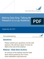 Making Data Sing
