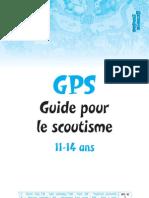 GPS bleu