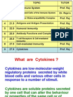 Lecture 28 - Cytokines