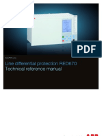 1MRK505183-UEN C en Technical Reference Manual Line Differential Protection IED RED 670 1.1