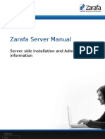 Zarafa Server Manual en 6.30.9