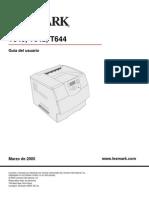 Manual Usuario Lexmarx T640-642 y 644