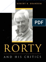 Rorty and His Critics