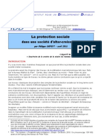 La protection sociale dans une société d'alter-croissance