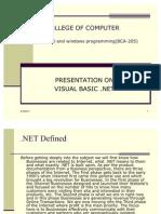 39534799-Vb-net-Notes