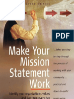 HTB Make Your Mission Statement Work - Identify Your Organis