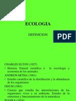 ECOLOGIA definicion