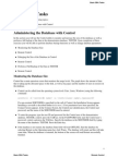 Basic DBA Tasks