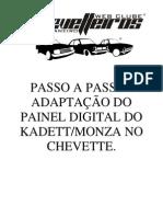 Painel_digital Para Chevette