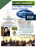 Coaching En Oratoria Curso Privado De Alto Nivel