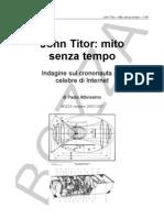 John Titor Mito Senza Tempo