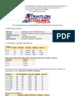 Triatlon Sprint y Olimpico