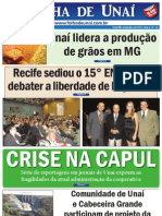 JORNAL FOLHA DE UNAÍ - SETEMBRO DE 2011