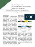 Caso Clínico Bioquímica nº 4