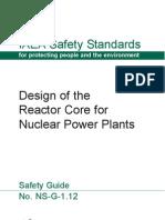 Design Reactor Core Nuclear IAEA