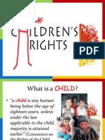CHILDGÇÖS RIGHTS