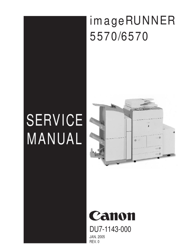 Diagram  Canon Imagerunner Advance 6075 6065 6055 Series Service Manual Circuit Diagram Parts