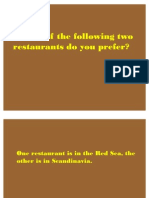 Two Restaurants