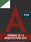Programa Semana de la Arquitectura - Madrid (ESP)