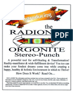Introducing the RadionicOrgoniteStereo-Punch