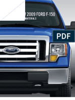 2009 Ford f150 Press Kit