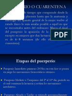 TRABAJO DE PUERPERIO