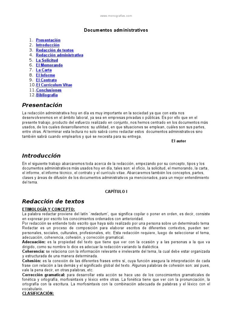 Redaccion De Curriculum Vitae. Modelo Curriculum Vitae Auxiliar De ...